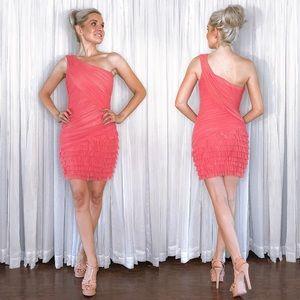 Bebe Pink Coral Mini Dress